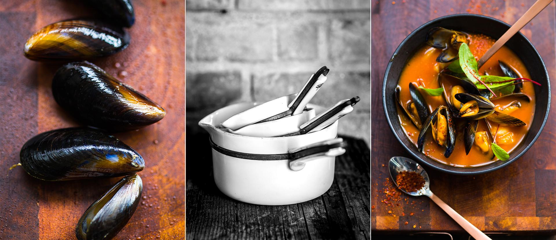 Bouillabaisse und Stillife von franzoesischen Toepfen fotografiert von Stilllife fotografie Katrin Winner