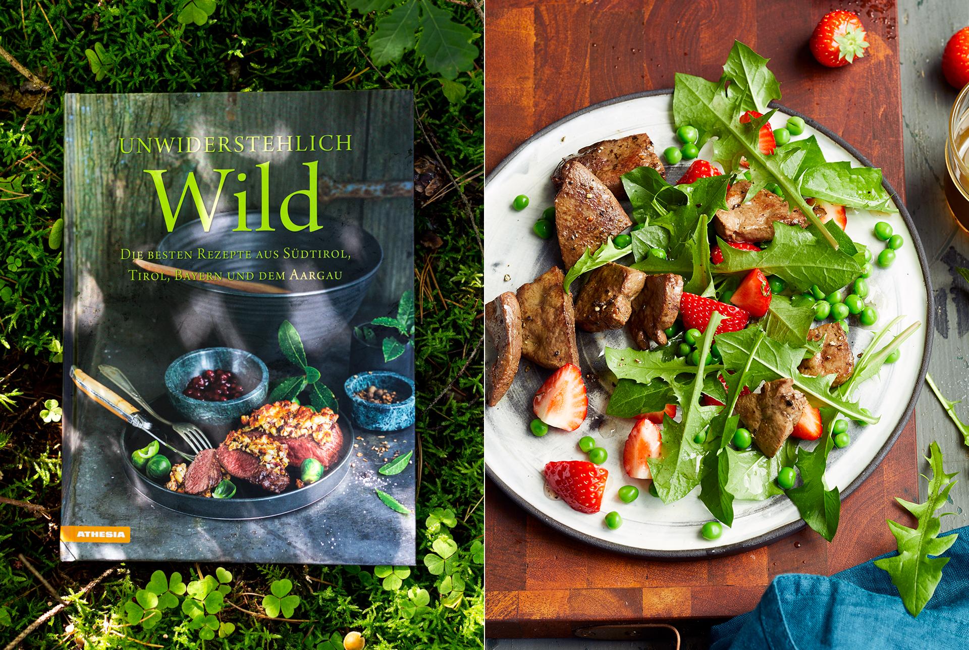 Wildkochbuch Athesia Verlag Unwiderstehlich Wild Foodfotografie Foodstyling Muenchen Katrin Winner